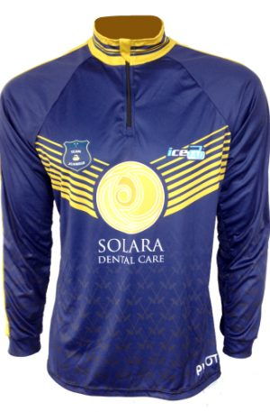 Curling Long Sleeve Jersey - Solara Dark Back